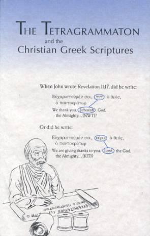 The kingdom interlinear translation of the greek scriptures